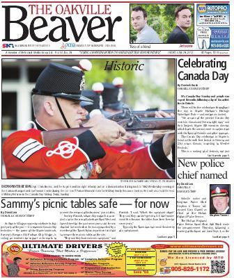 Oakville Beaver, 29 Jun 2012