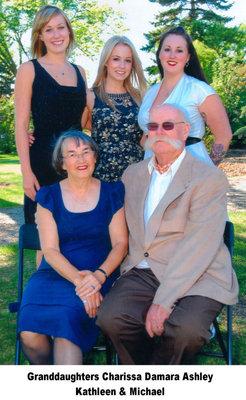 Kathleen & Michael Lett with granddaughters