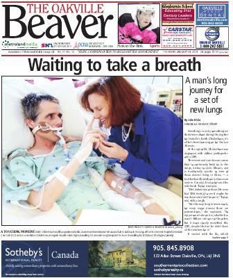 Oakville Beaver, 24 Jan 2013