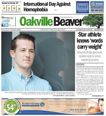 Oakville Beaver, 17 May 2013