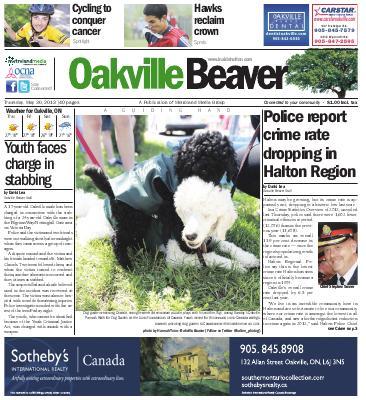 Oakville Beaver, 30 May 2013