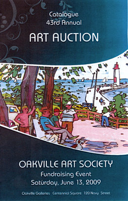 Brochure: 43rd Annual Art Auction