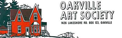 """Oakville Art Society Logo (#2) """"The Red House"""""""