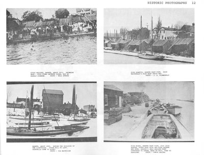 Historical Photographs of Bronte Harbour