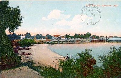 Bronte Beach Postcard 1910
