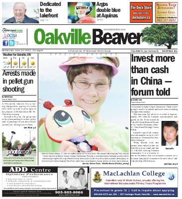 Oakville Beaver, 12 Jun 2013