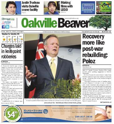 Oakville Beaver, 21 Jun 2013