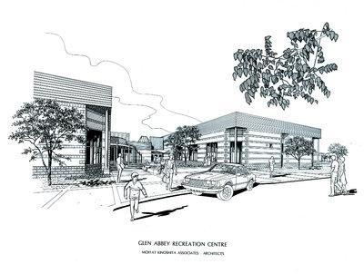Rendering of Glen Recreation Centre