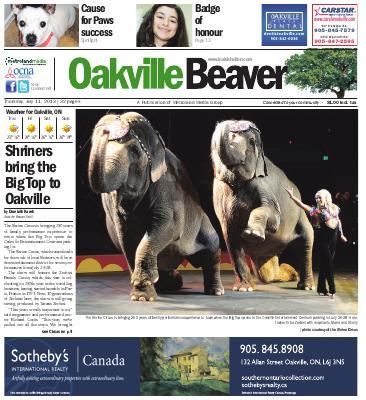 Oakville Beaver, 11 Jul 2013