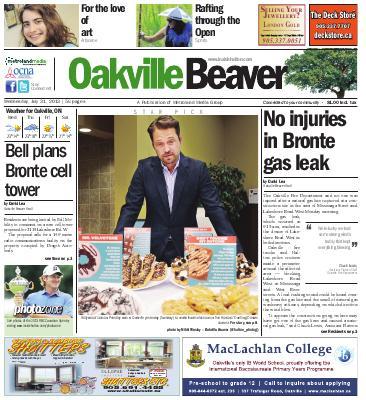 Oakville Beaver, 31 Jul 2013