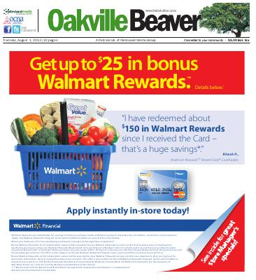 Oakville Beaver, 1 Aug 2013