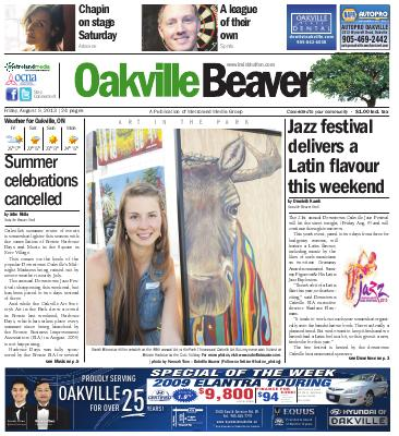 Oakville Beaver, 9 Aug 2013