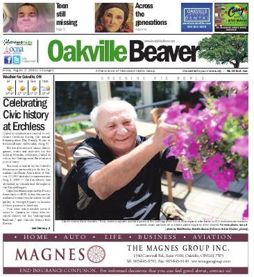 Oakville Beaver, 2 Aug 2013
