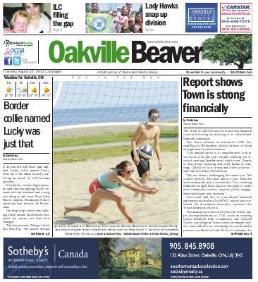 Oakville Beaver, 22 Aug 2013
