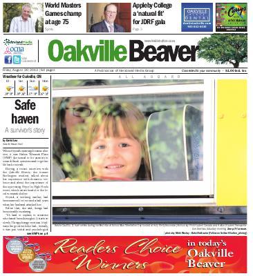 Oakville Beaver, 30 Aug 2013