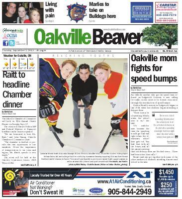 Oakville Beaver, 5 Sep 2013