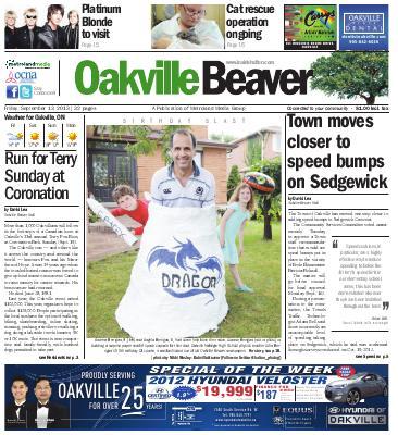 Oakville Beaver, 13 Sep 2013