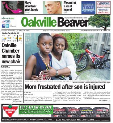 Oakville Beaver, 19 Sep 2013