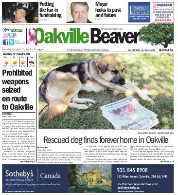 Oakville Beaver, 10 Oct 2013