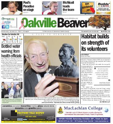 Oakville Beaver, 16 Oct 2013