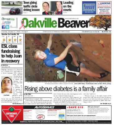 Oakville Beaver, 17 Oct 2013