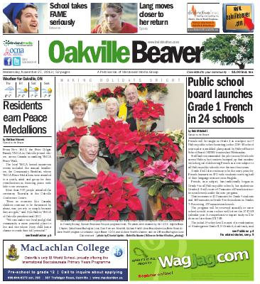 Oakville Beaver, 27 Nov 2013