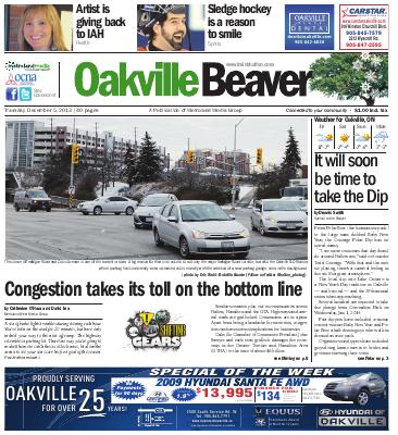Oakville Beaver, 5 Dec 2013