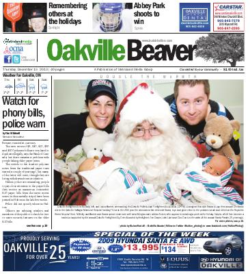 Oakville Beaver, 19 Dec 2013