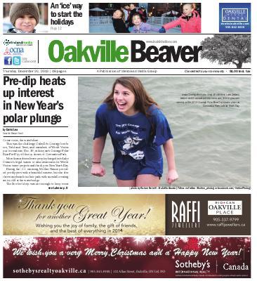 Oakville Beaver, 26 Dec 2013