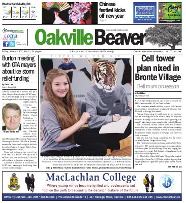 Oakville Beaver, 17 Jan 2014