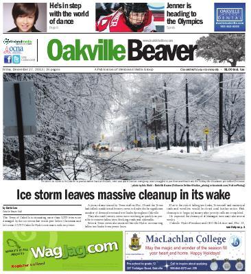 Oakville Beaver, 27 Dec 2013