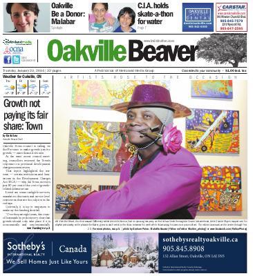 Oakville Beaver, 23 Jan 2014