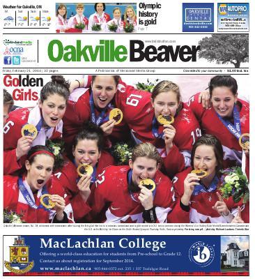 Oakville Beaver, 21 Feb 2014