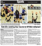 Oakville sending four teams to OFSAA volleyball