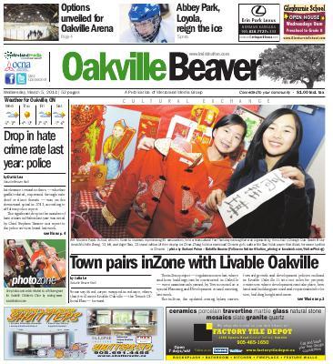 Oakville Beaver, 5 Mar 2014