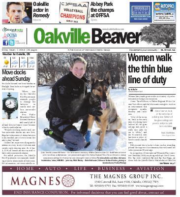 Oakville Beaver, 7 Mar 2014
