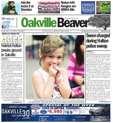 Oakville Beaver, 14 Mar 2014