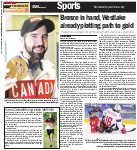 Bronze in hand, Westlake already plotting path to gold: Paralympic sledge hockey medal a thank you to his supporters