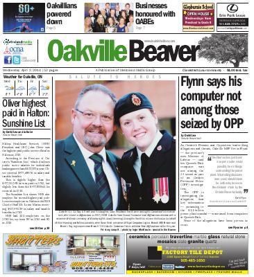 Oakville Beaver, 2 Apr 2014