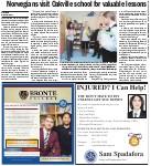 Norwegians visit Oakville school for valuable lessons