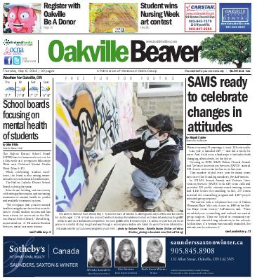 Oakville Beaver, 8 May 2014