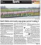 A sod state of affairs: Garth Webb community says grass just isn't cutting it