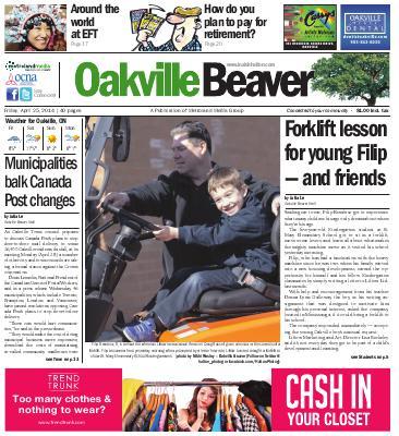 Oakville Beaver, 25 Apr 2014