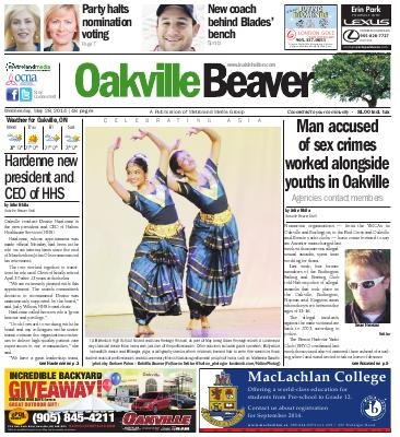 Oakville Beaver, 28 May 2014