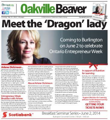 Oakville Beaver, 22 May 2014