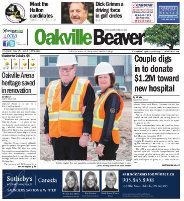 Oakville Beaver, 29 May 2014