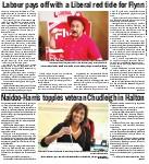 Naidoo-Harris topples veteran Chudleigh in Halton