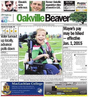 Oakville Beaver, 18 Jun 2014