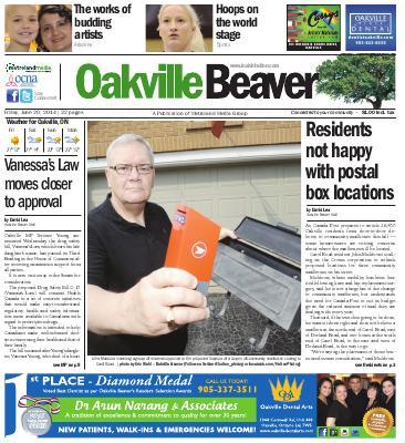 Oakville Beaver, 20 Jun 2014