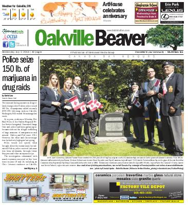 Oakville Beaver, 2 Jul 2014